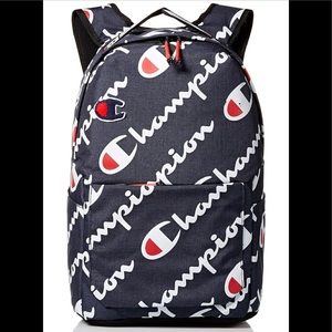 New Champion Chenille Logo Backpack NWT